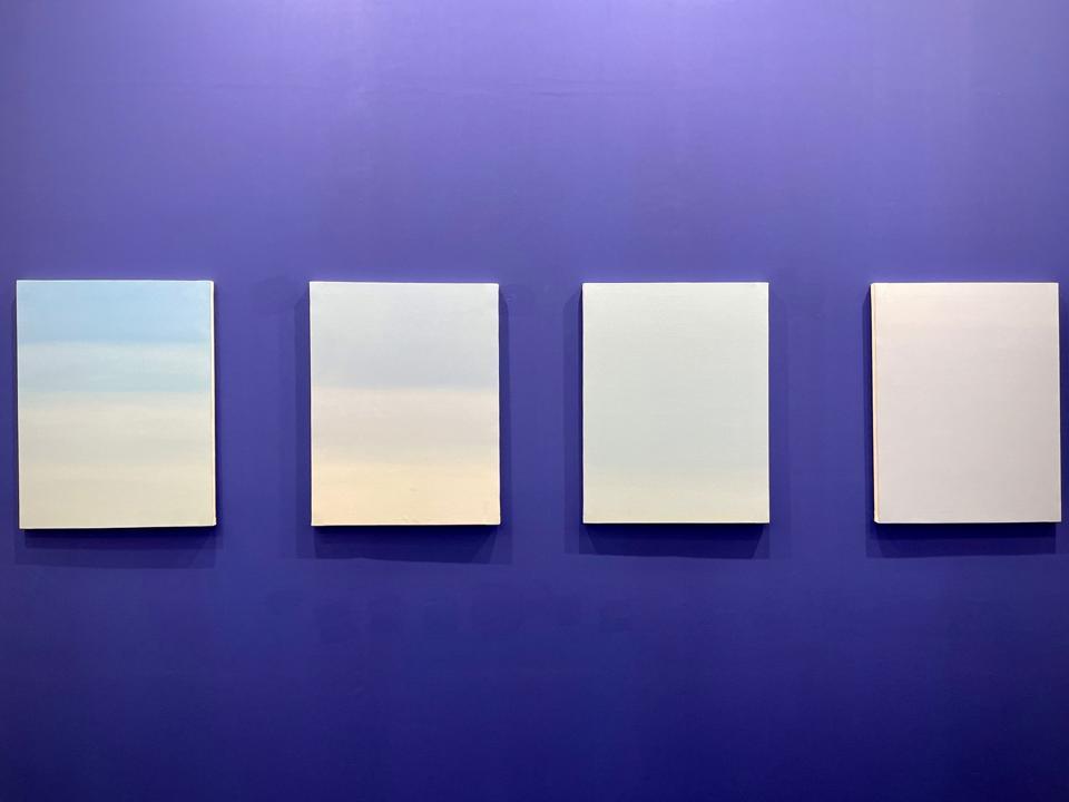 08:01, 11:58, 11:11, 16:38 (2021) by Alesha Sultana via Experimenter Gallery (Kolkata)