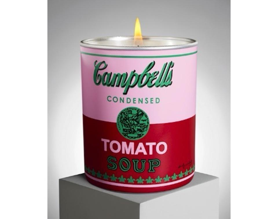 Andy Warhol Bougie ″Campbell″ by Ligne Blanche