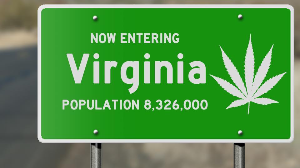 Virginia and marijuana laws