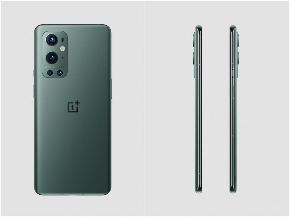 Official renders of the OnePlus 9 Pro in green