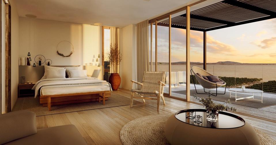 Waterfront villa at lux* La Baraquette Resort & Residences
