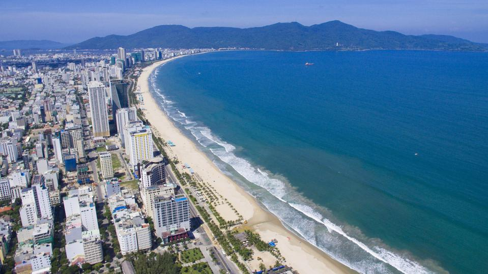 The coastal city of Da Nang has become a sought-after beach destination for tourists.