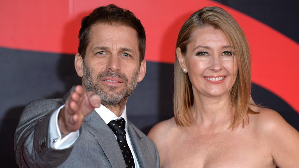 Director Zack Snyder's films are known for their heavily stylized imagery and general aura of solemnity.