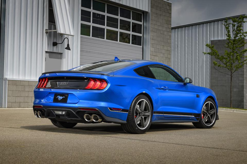 2021 Ford Mustang Mach 1 Rear
