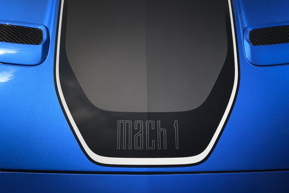 2021 Ford Mustang Mach 1 Hood