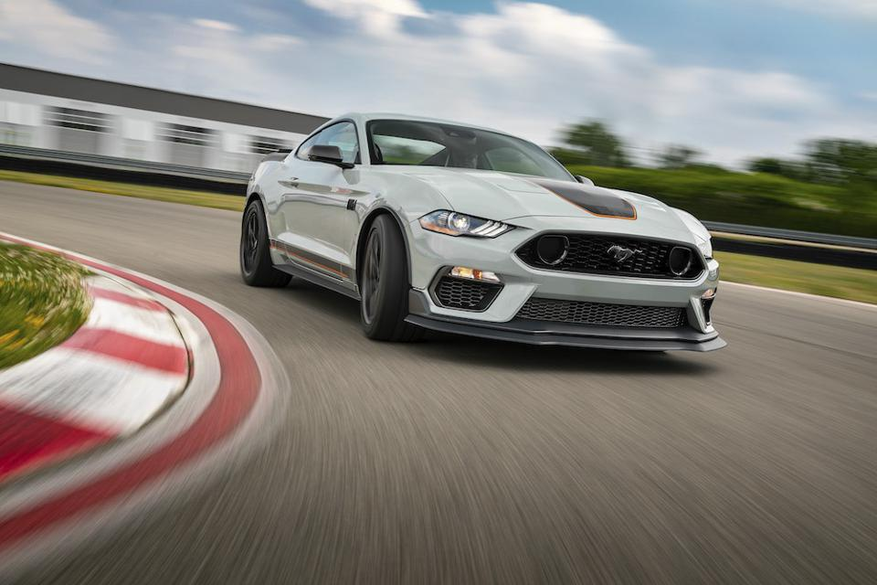 2021 Ford Mustang Mach 1 Track