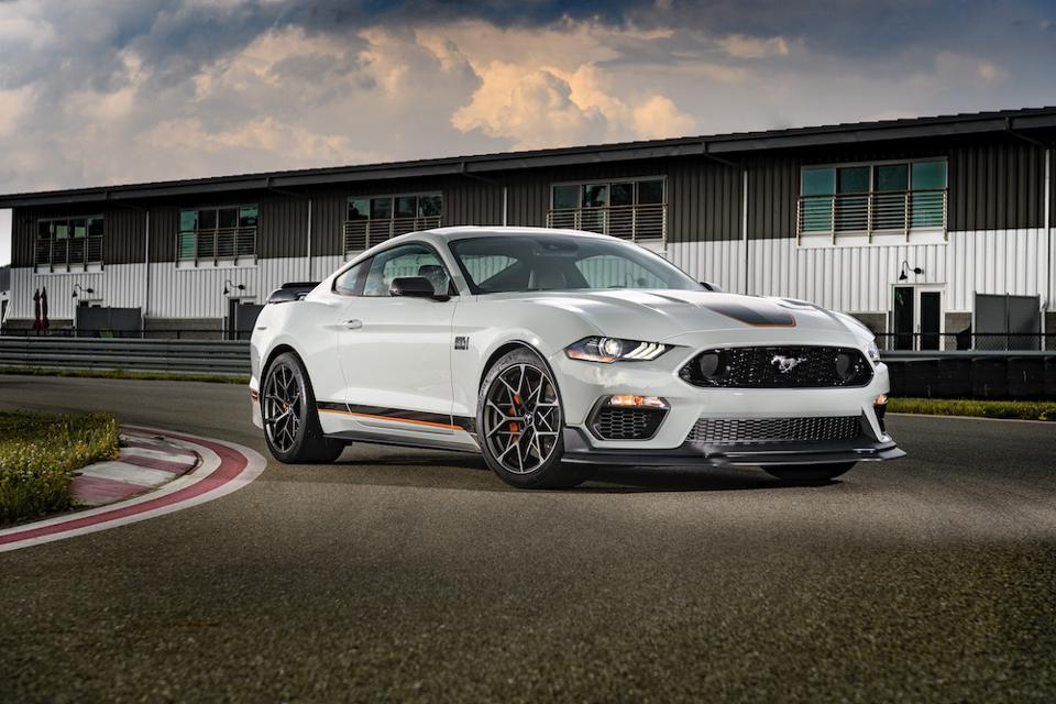 2021 Ford Mustang Mach 1 Front Gray