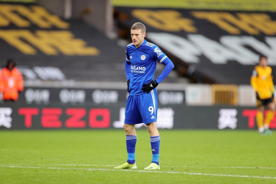 Jamie Vardy of Leicester City - Premier League
