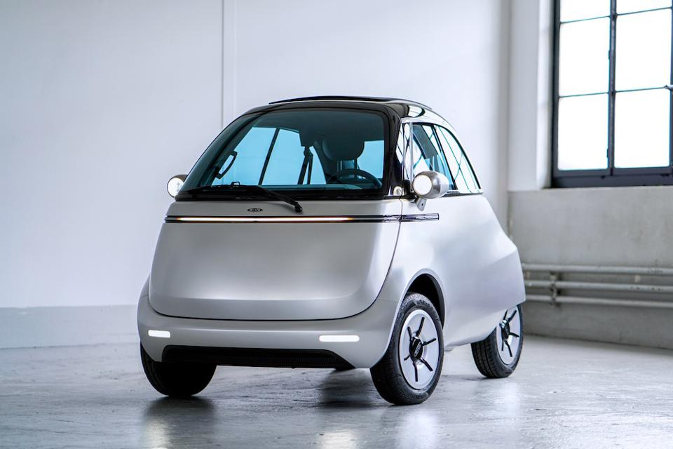 Micro's Microlini electric bubble car