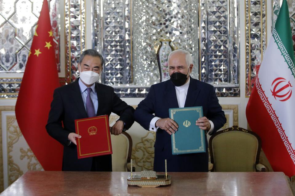 Chinese Foreign Minister Wang Yi in Iran