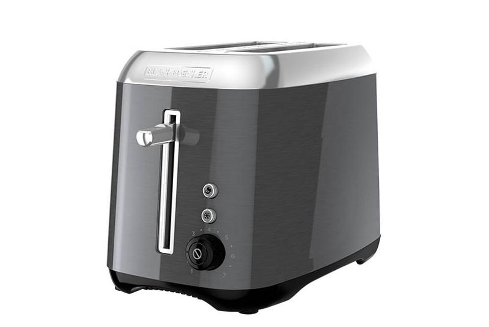 Black + Decker 2-Slice Extra Wide Toaster