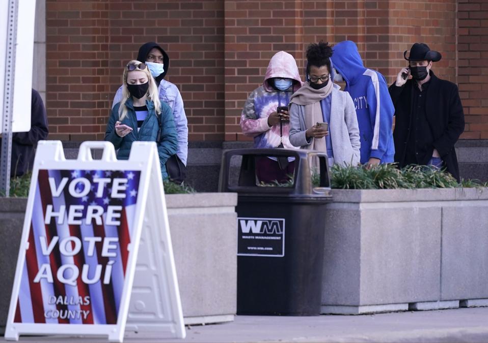 Election 2020 Texas Voting