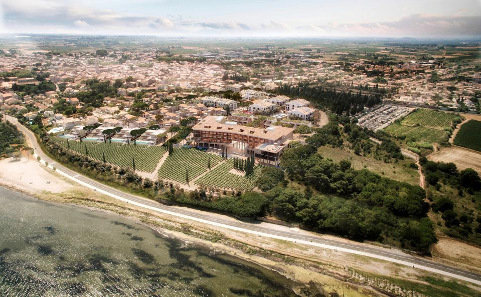 Aerial view of LUX* La Baraquette and Residences