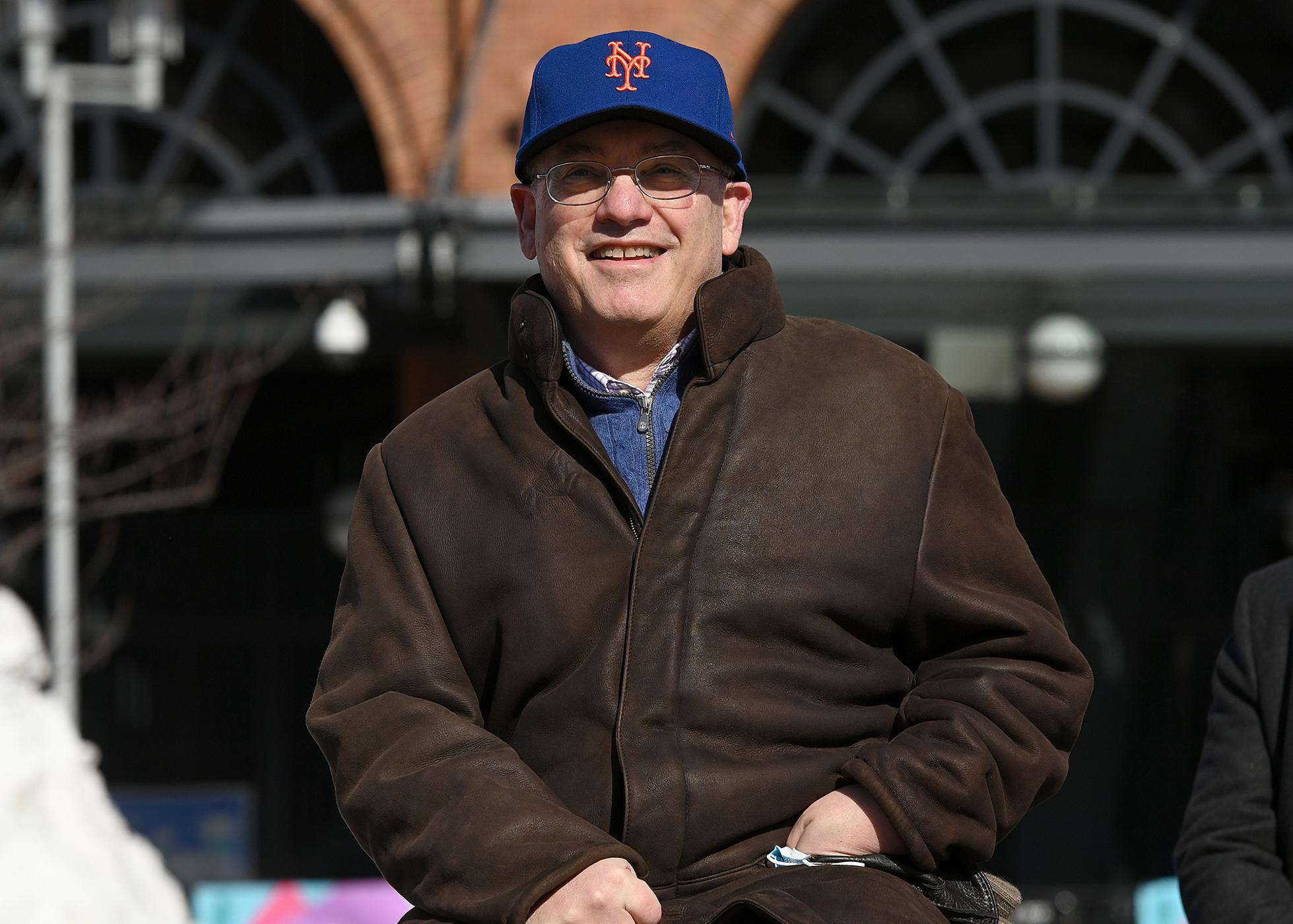 NY: Mets Owner Steve Cohen Attends Opening Of Citi Field As COVID-19 Vaccine Hub