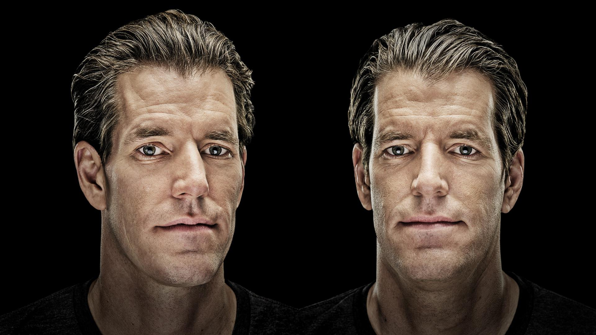 Pictured: The Winklevoss twins, whose big bet on Bitcoin has made them into billionaires.
