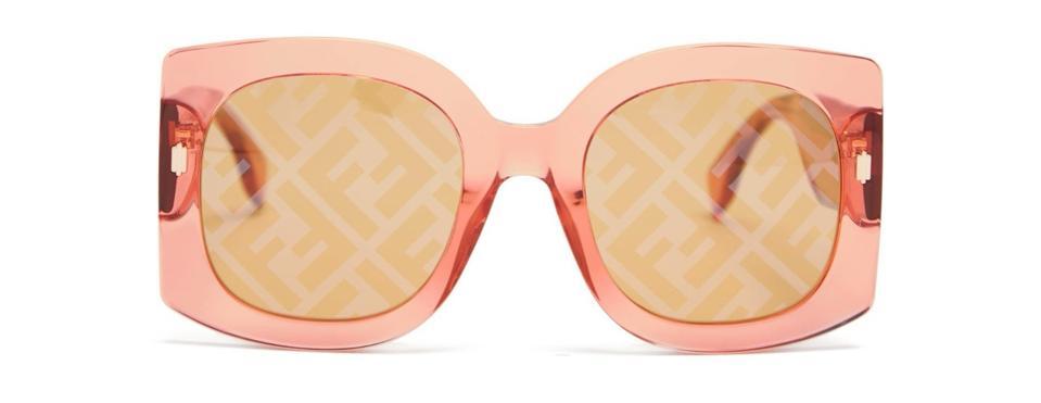 FF Square Acetate Sunglasses by Fendi: