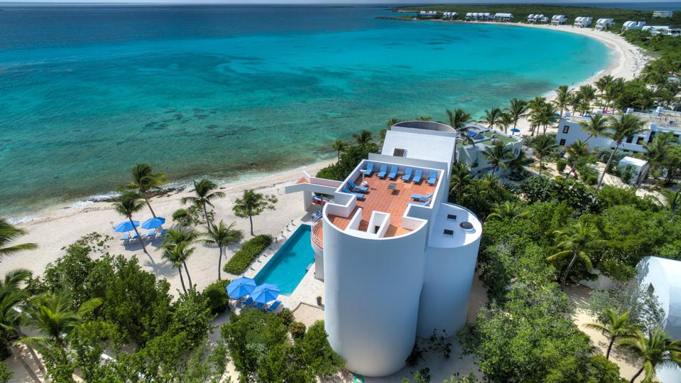 Altamer Resort, Anguilla near the Caribbean Sea.