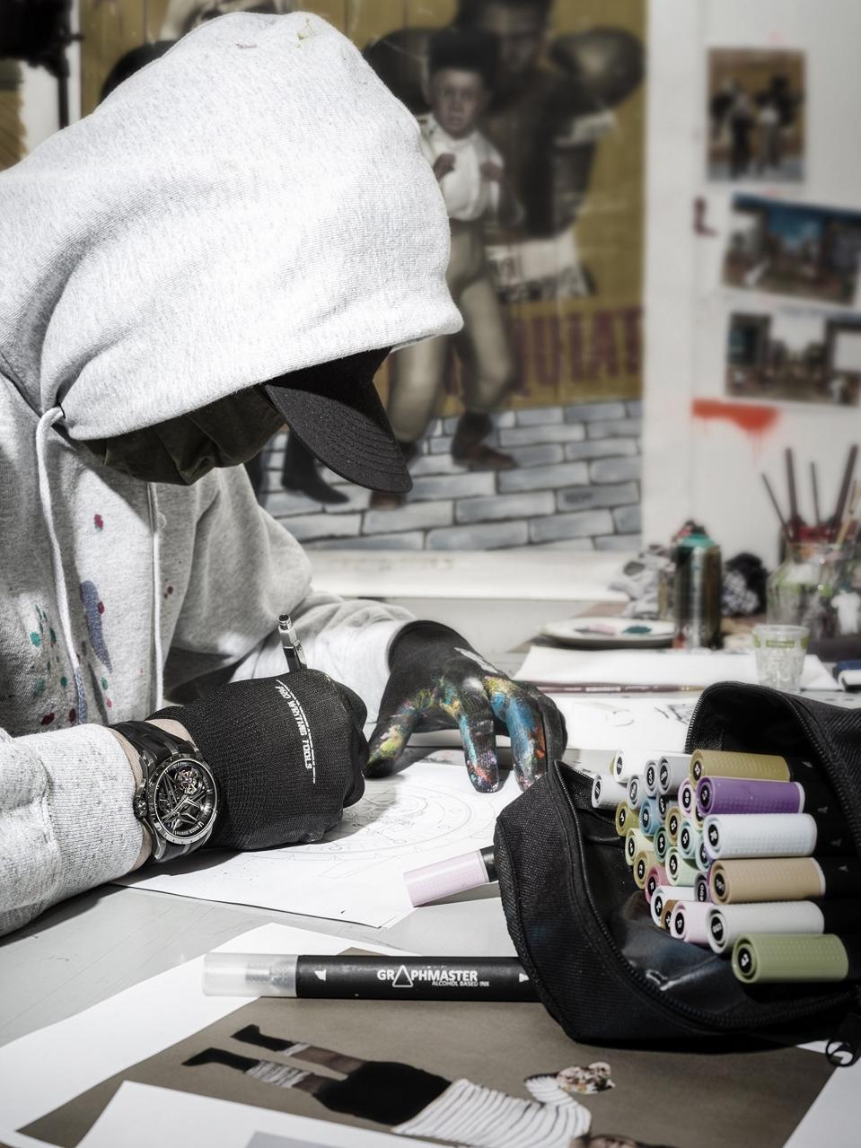 French street artist, Gully
