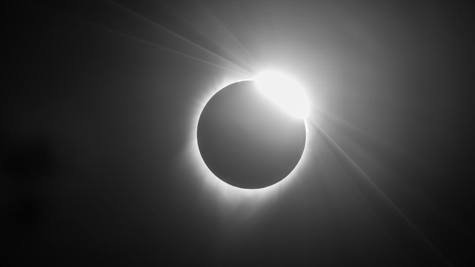 A total solar eclipse on August 21 2017 from Madras, Oregon.