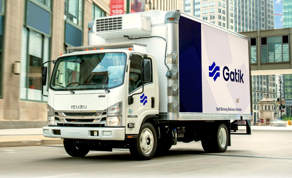automated driving box truck