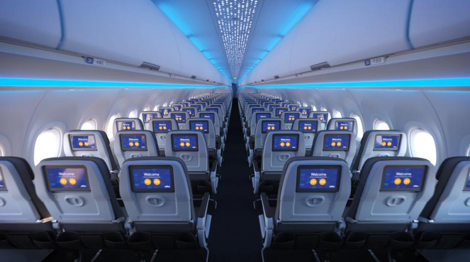 JetBlue's Single-Aisle Airbus A321LR with Airspace Powered by Airbus
