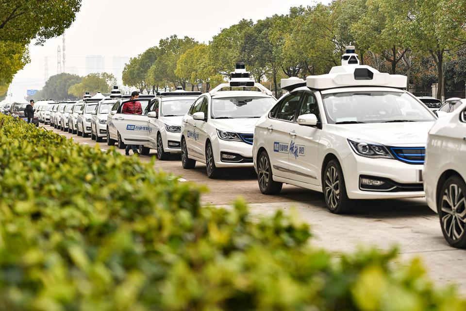 Self-driving Robotaxis Offer Free Test Ride In Wuhan