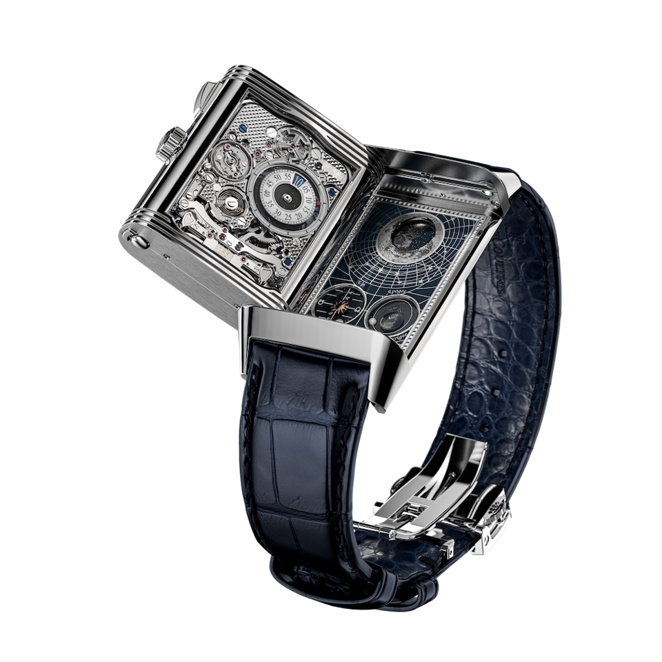 Jaeger-LeCoultre Reverso Hybris Mechanica Caliber 185 Quadriptyque, Watches & Wonders 2021