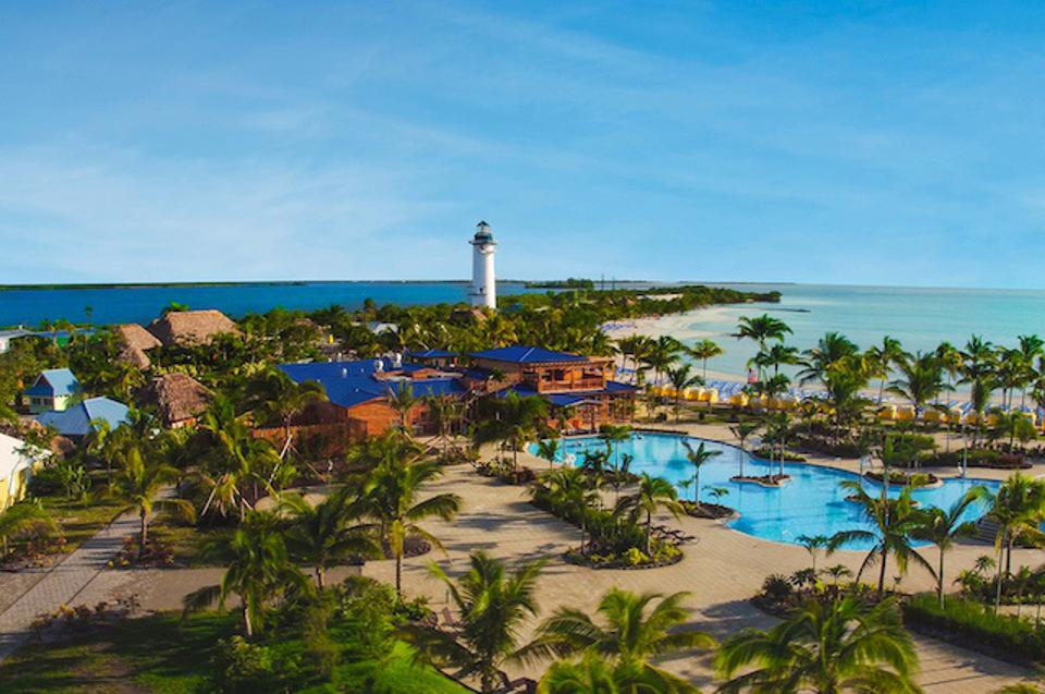 Harvest Caye, private resort in Belize