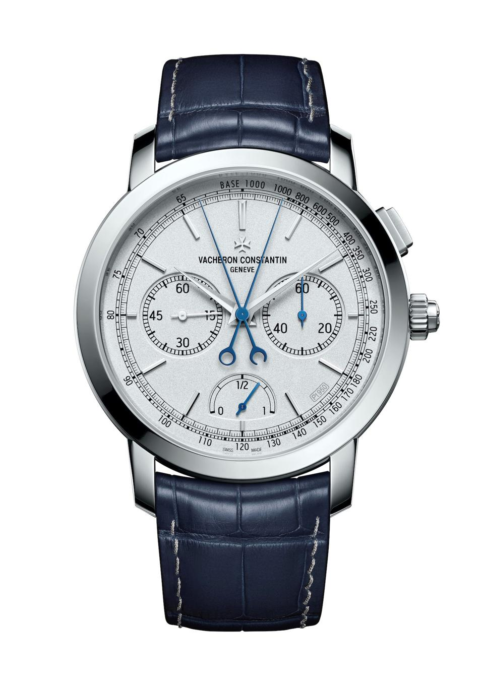Vacheron Constantin Unveils its platinum Traditionnellel  Chronograph Split Second watch