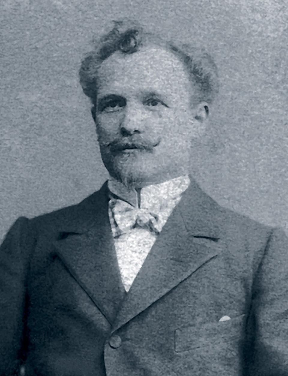 The founder of Breitling, Léon Breitling.
