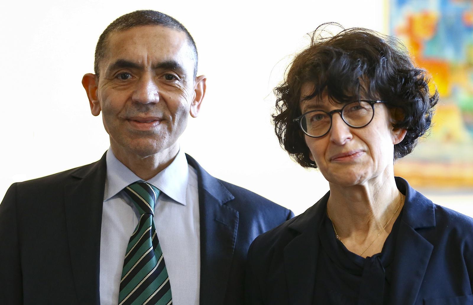 Uğur Şahin and Özlem Türeci cofounded BioNTech in 2008.