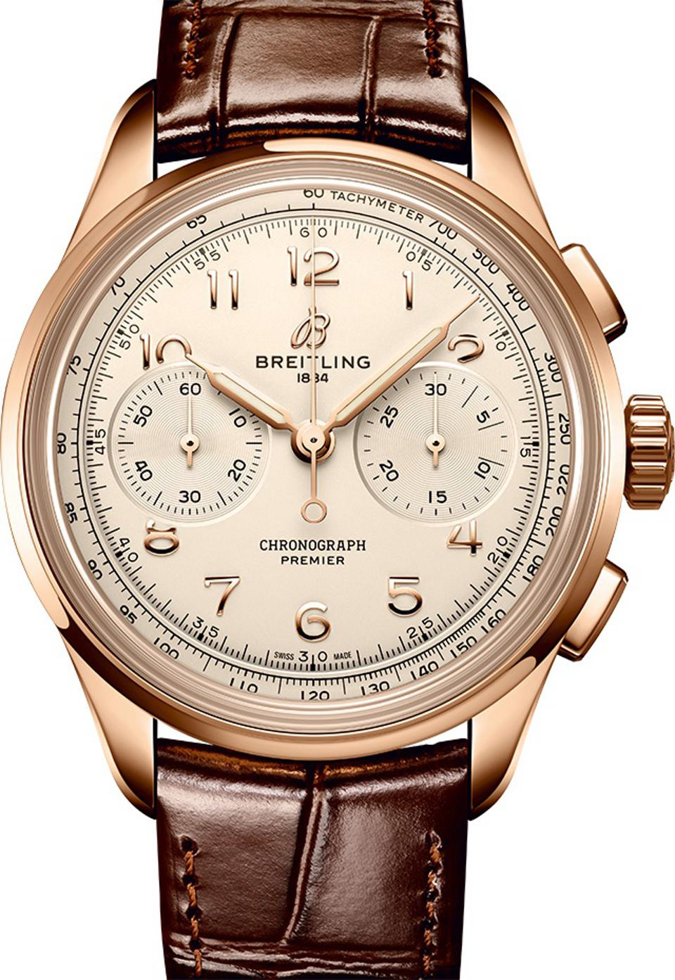 Breitling Heritage Premier Chronograph.