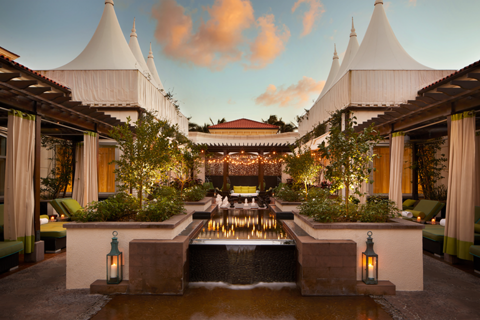 Spa Garden at Eau Palm Beach Resort and Spa