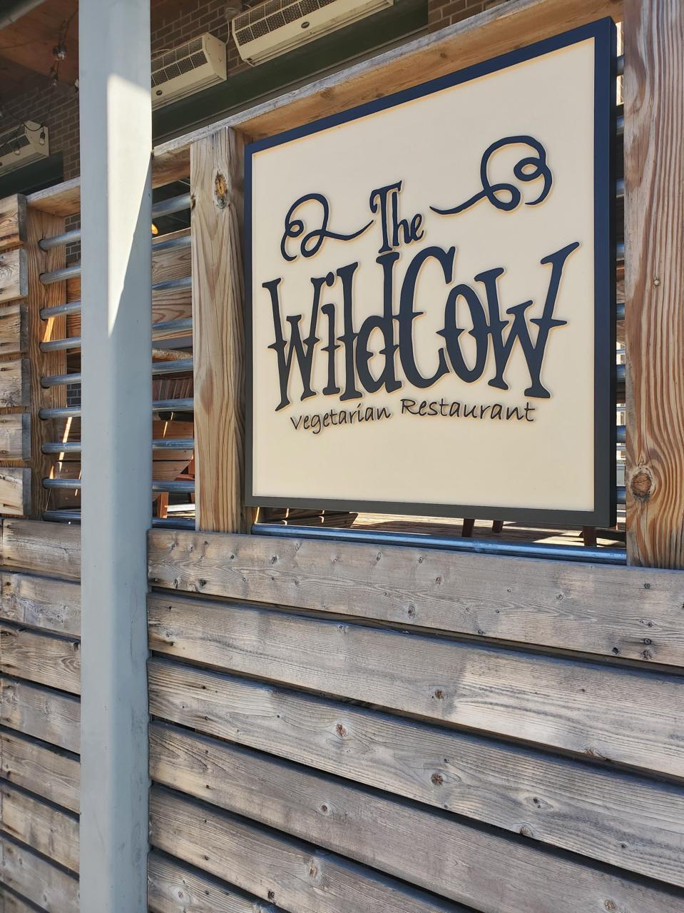 The Wild Cow vegan restaurant