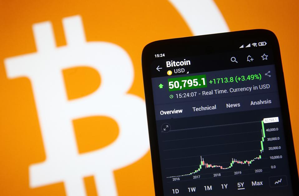 Bitcoin Hits A New Record High