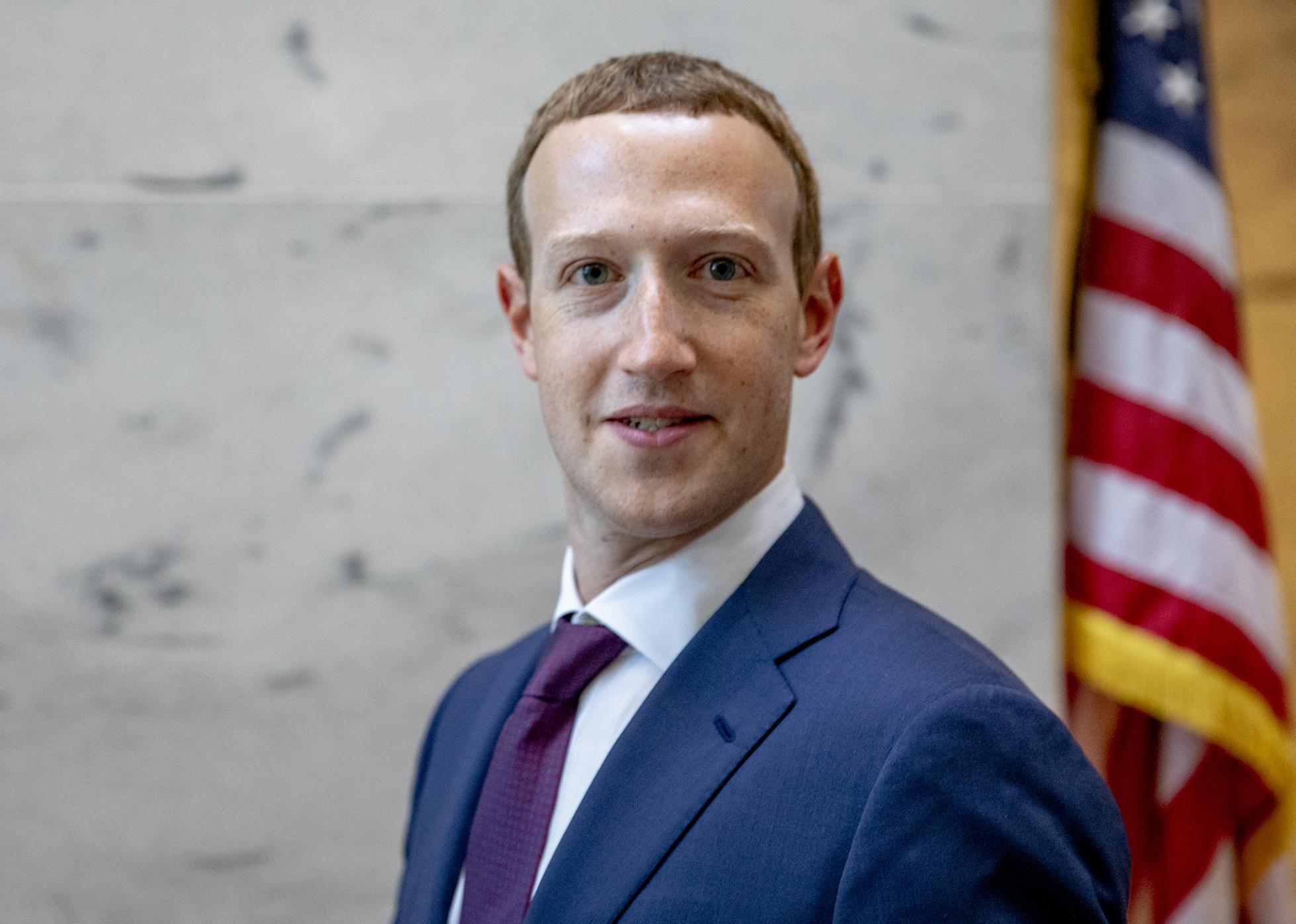 Facebook CEO Mark Zuckerberg Meets With Lawmakers On Capitol Hill