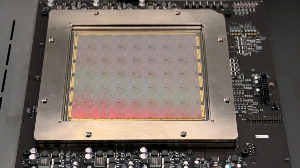 Lightmatter's Passage product is a wafer-scale, programmable photonic interconnect that connects photonic processors with other kinds of chips.