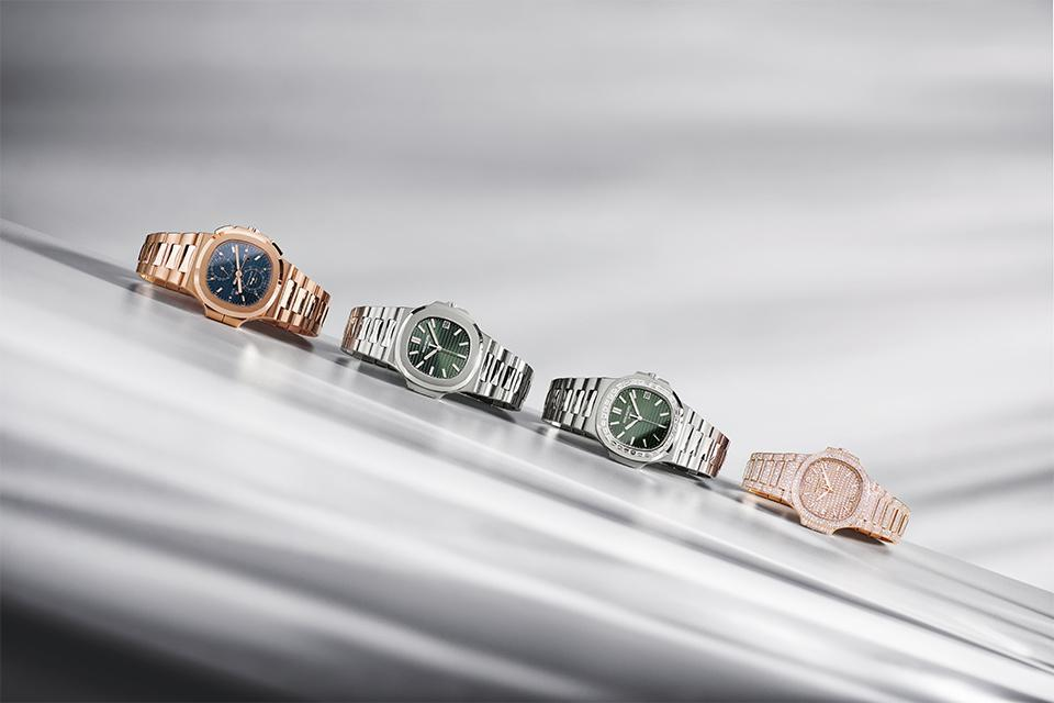 Four new models join the Nautilus collection