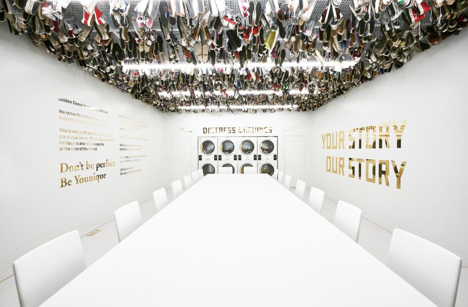 The Dream Room at the new Golden Goose headquarters in Milan