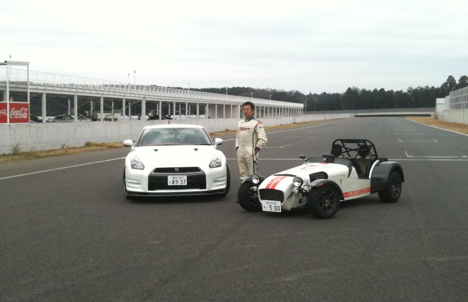 In 2012, a 250-hp Caterham Seven R500 weighing under 1,000 lbs beat a 550-hp Nissan GT-R in a time attack battle in Japan.
