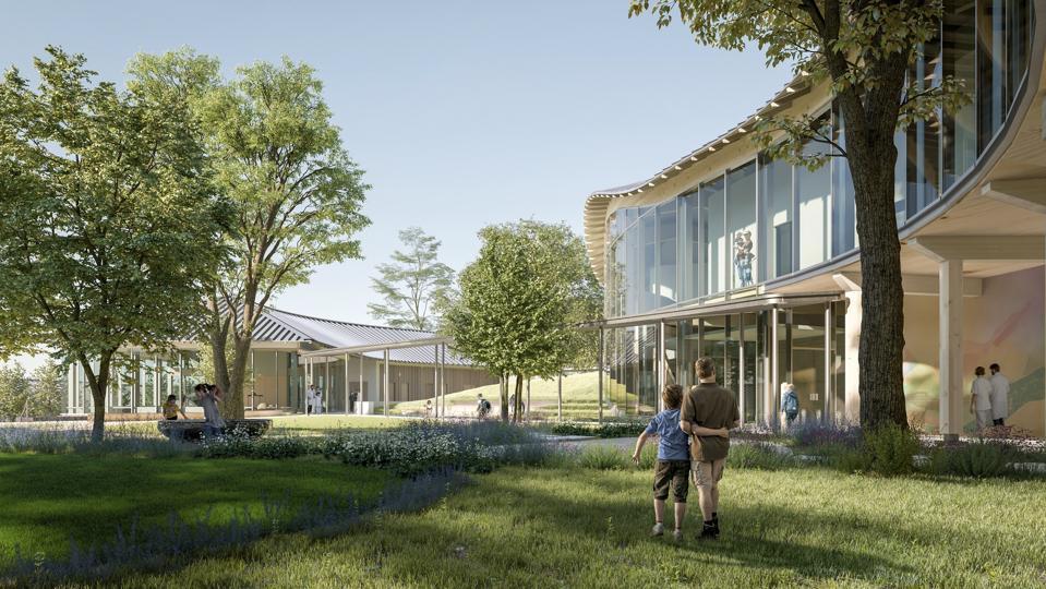 Design for Ohana pediatric behavioral health center in Monterey, California.