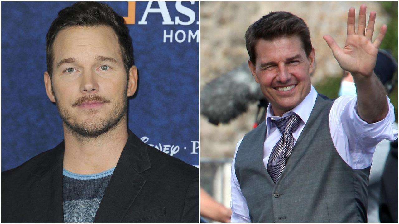 Chris Pratt and Tom Cruise