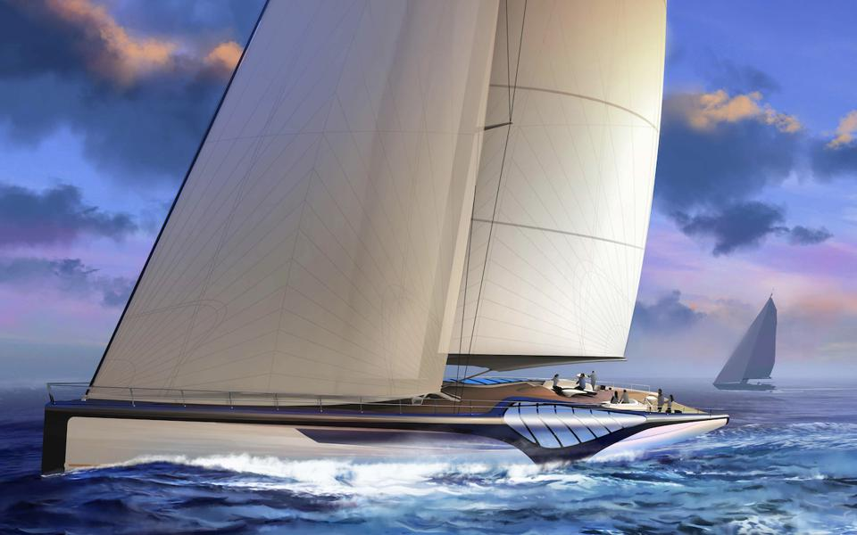 EXO is a radical new 150-foot-long sailing superyacht concept