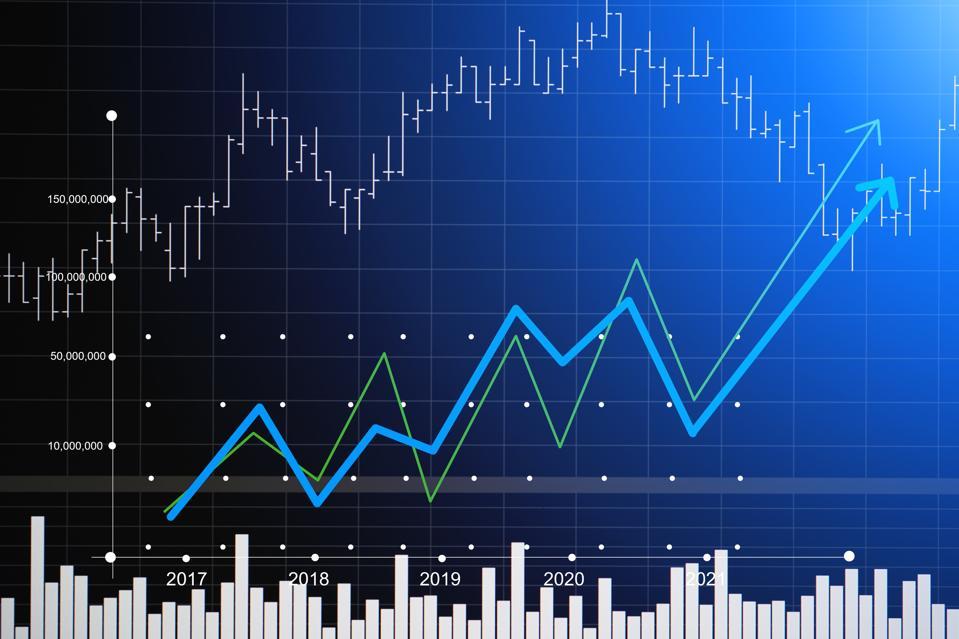 Close-Up Of Stock Market Data