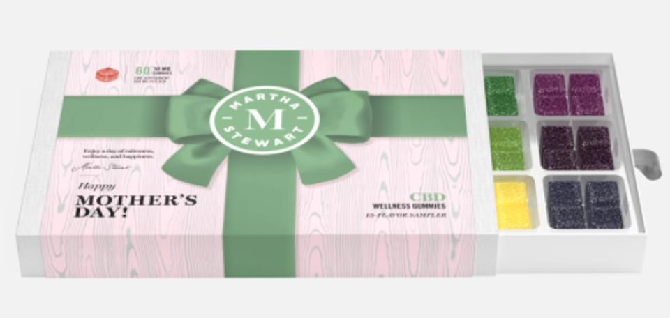 The Best Mother's Day Gifts For 2021: Martha Stewart CBD Mother's Day Gummy Medley Box