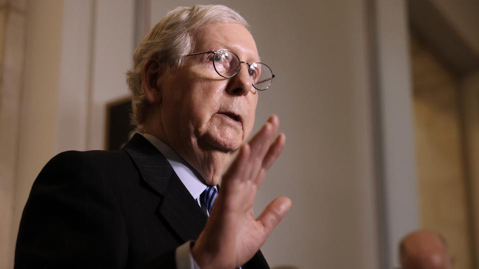 Senators Hold Media Availability On Capitol Hill