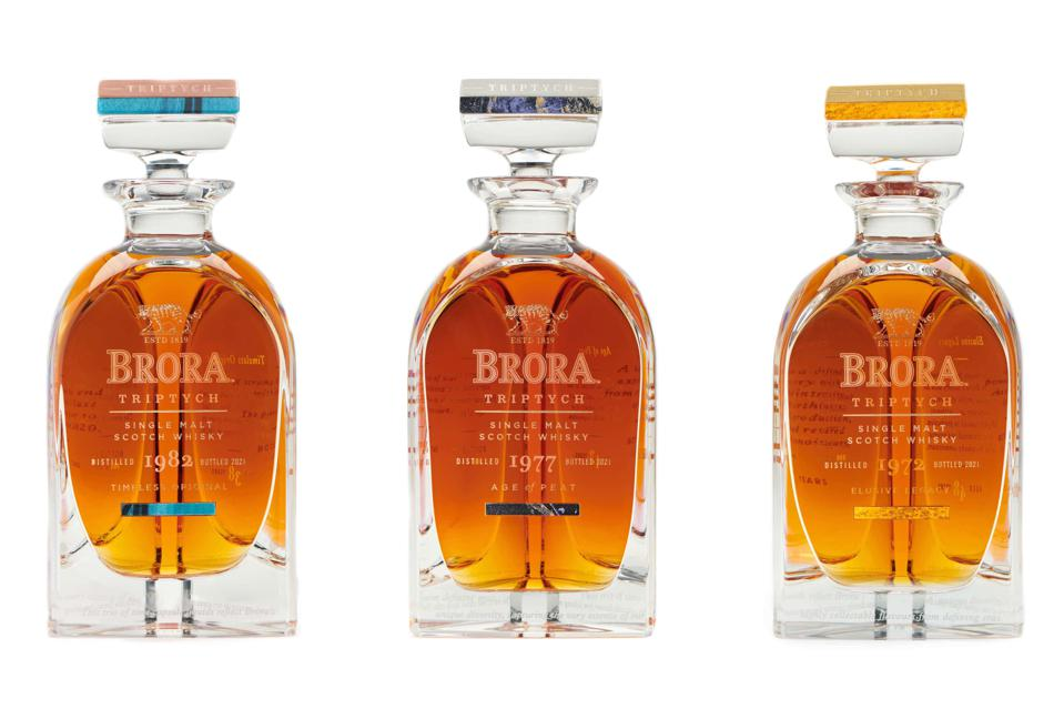 Diageo Releases Brora Triptych