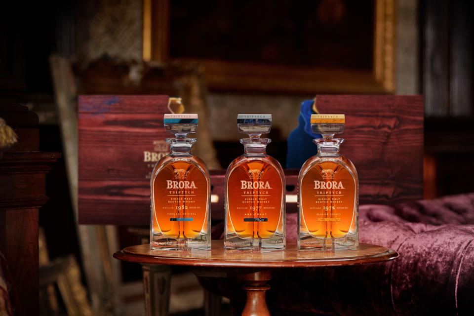 Diageo Brora Triptych Collection