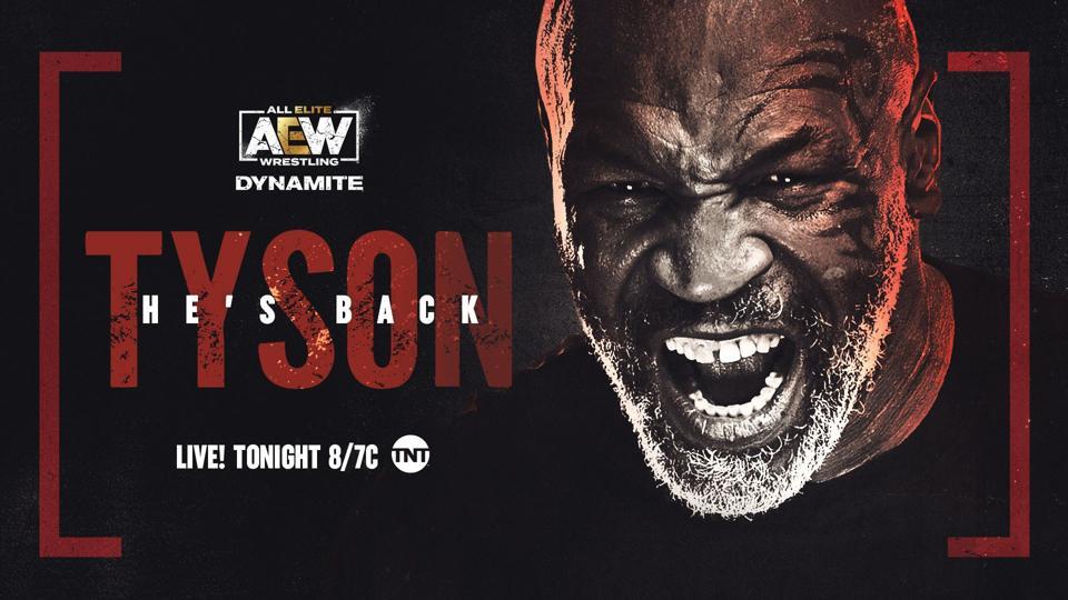 AEW Dynamite يضم مايك تايسون.