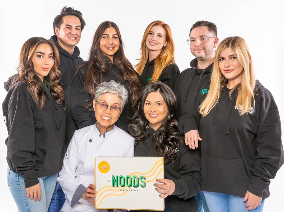 NOODS Partners from left to right: